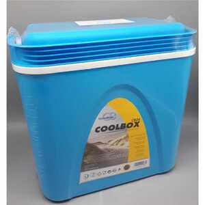 Tragbare Kühlbox, 24 l, blau