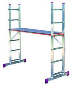 Alu-Gerüst- und Leiter-Set