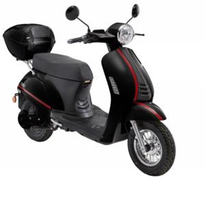 LuXXon E-Roller E3000 45 km/h (Mokick-Klasse), schwarz