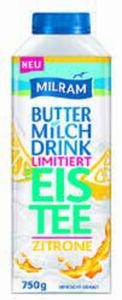 """MILRAM Buttermilchdrink """"Eistee"""""""