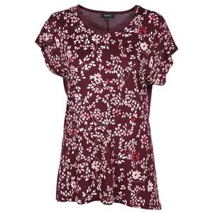 Damen T-Shirt im Alloverdruck