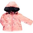 Bild 1 von Baby Mädchen Winterjacke mit Kapuze