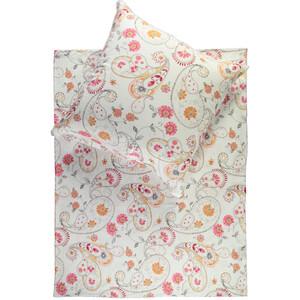 Jerseybettwäschemit floralem Print, 135x200cm