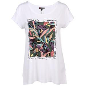 Damen Shirt mit aufwendigem Flowerprint