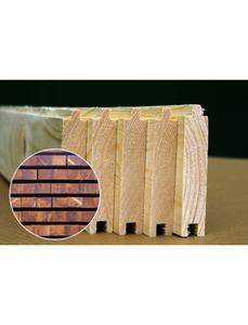 Fußboden für Gartenhäuser für Gartenhäuser »Tina 10,4«, BxHxt: 359 x 1,9 x 299 cm, Holz