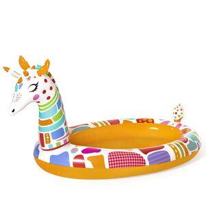 Bestway #53089 Planschbecken Groovy Giraffe 266x157x127cm