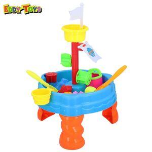 Eddy Toys Sand- und Wasserspieltisch 22-teilig