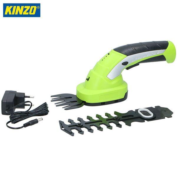 Kinzo Gras- und Heckenschere 2in1