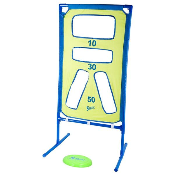 Scatch Frisbee-Wurfspiel mit Spielwand