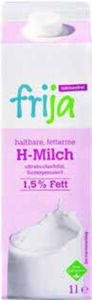 frija Laktosefreie haltbare fettarme Milch 1,5 % Fett