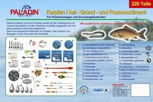 Paladin® Vollsortimentbox - Karpfen / Aal