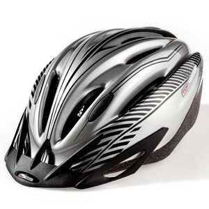 Topvelo Fahrradhelm für Erwachsene, Schwarz- Grau