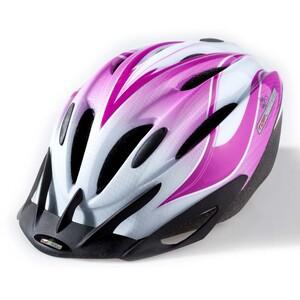 Topvelo Fahrradhelm für Kinder / Jugendliche, Weiß / Pink
