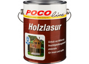 Holzlasur weiß 2,5 Liter