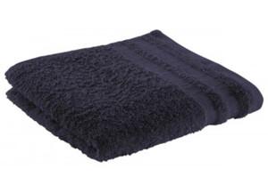 Handtuch Miami dunkelblau 50 x 100 cm