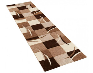 Teppich Diamond ca. 80 x 300 cm braun