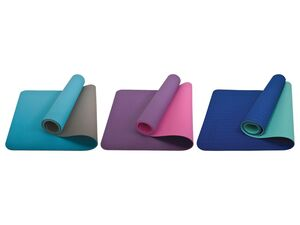 Schildkröt Fitness Yogamatte »Bicolor«, 4 mm, mit Tragetasche
