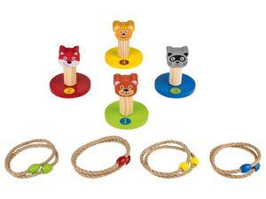 PLAYTIVE® Wurfspiel, mit 8 Wurfringen