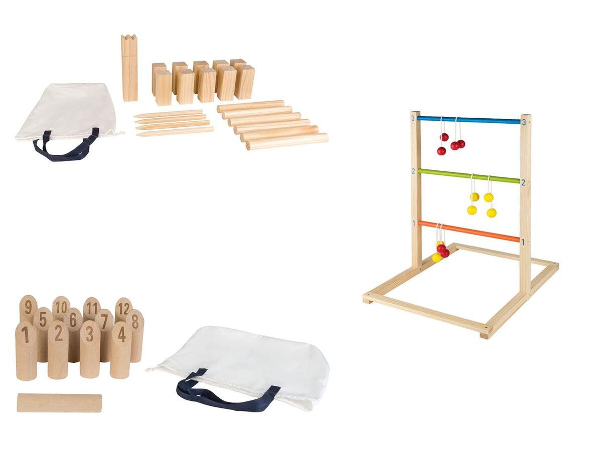 Bild 1 von PLAYTIVE® Holzoutdoorspiele »Maxi«, aus Echtholz