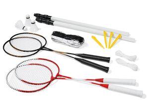 CRIVIT® Badminton, Komplettset, für bis zu 4 Spieler
