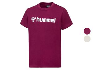 Hummel Kinder T-Shirt Mädchen, Regular Fit, mit Logo