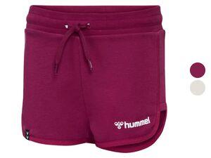 Hummel Kinder Shorts Mädchen, mit 2 Taschen, Tunnelzug