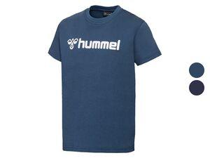 Hummel Kinder T-Shirt Jungen, Regular Fit, mit Logo