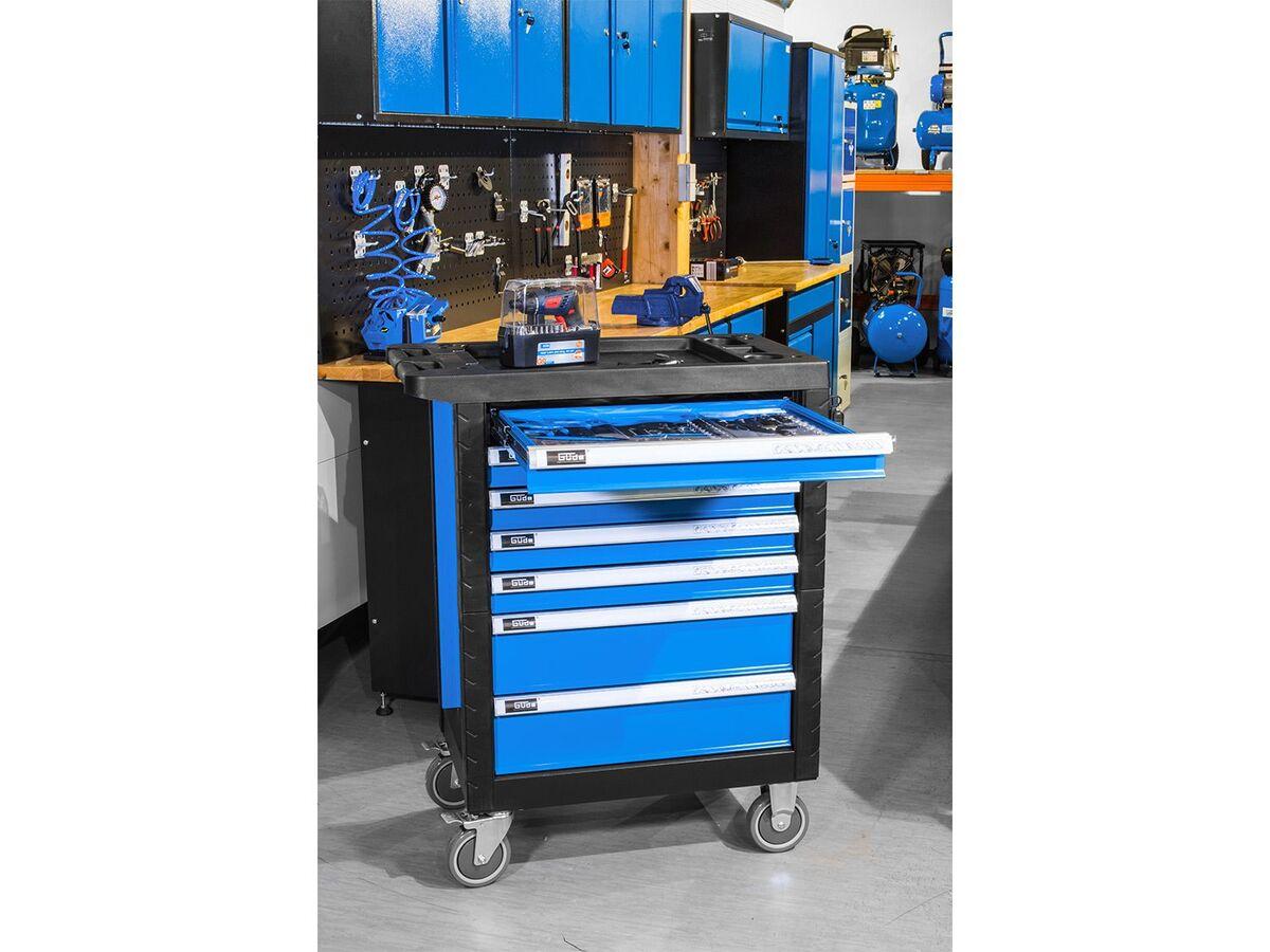 Bild 4 von Güde Werkstattwagen Premium »GWSP 07«, Vollauszugschubladen