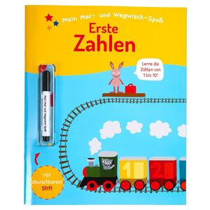 Mal- und Wegwischheft/Lernhilfebuch