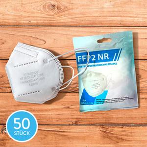 Filtrierende Halbmasken FFP2 NR, 50 Stk.1