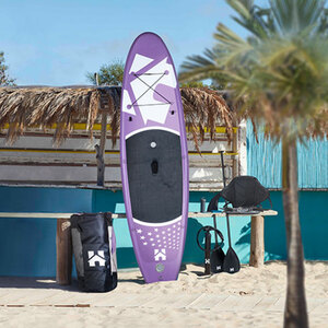 Stand Up Paddle Board 366 cm Lila1