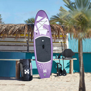 Stand Up Paddle Board 320 cm Lila1