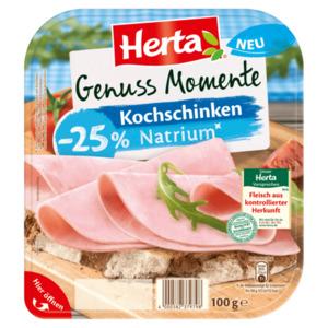 Herta Genuss Momente Kochschinken Natriumreduziert 100g