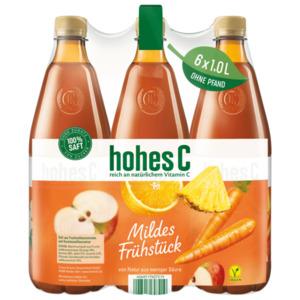 Hohes C Mildes Frühstück 6x1l