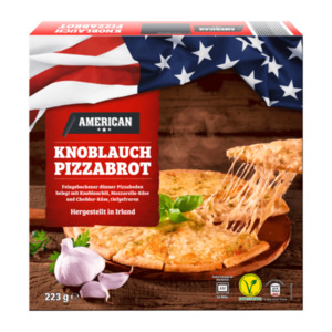AMERICAN     Knoblauch Pizzabrot
