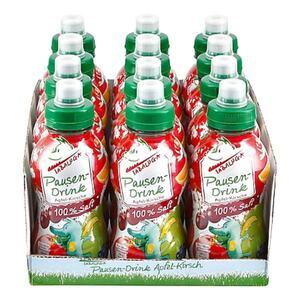 Tabaluga Pausendrink Apfel-Kirsch 0,3 Liter, 12er Pack