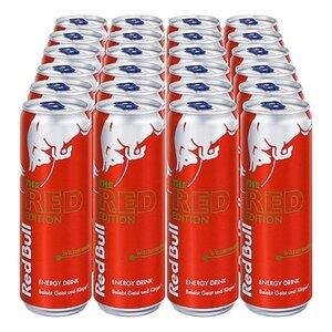 Red Bull Energy Drink Wassermelone 0,335 Liter Dose, 24er Pack