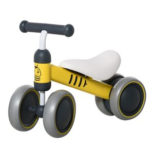 Homcom Kinder Laufrad gelb