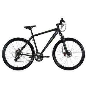 KS Cycling Mountainbike MTB Hardtail Heist 27,5 Zoll für Herren, Größe: 46, Schwarz