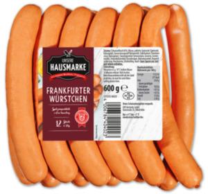 UNSERE HAUSMARKE Frankfurter Würstchen