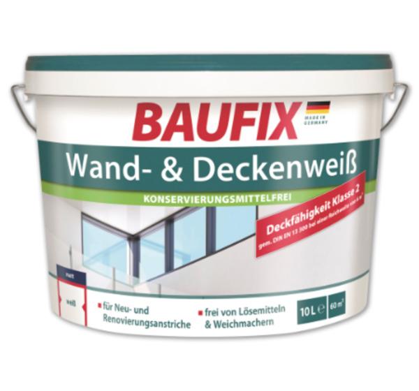 BAUFIX Wand- und Deckenweiß