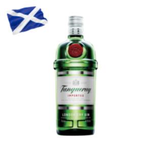 Tanqueray London dry GinSiegfried Wonderleaf alkoholfrei oder Remedy Spiced Rum