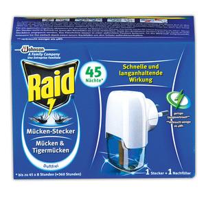 Raid Mücken-Stecker