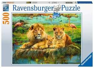 Ravensburger Puzzle Löwen in der Savanne 500T
