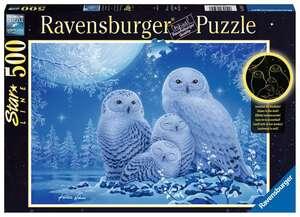 Ravensburger Puzzle Eulen im Mondschein 500T