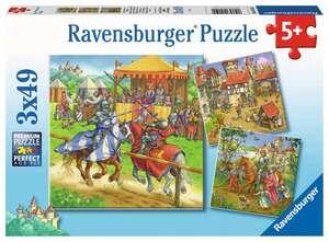 Ravensburger Puzzle Ritterturnier Mittelalter3x49T