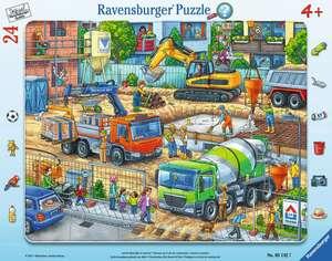Ravensburger Puzzle Auf der Baustelle 24T