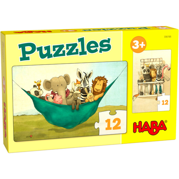 HABA 306166 Puzzles Löwe Udo