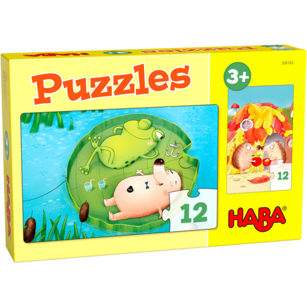 HABA 306165 Puzzles Herr Igel