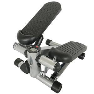 2 in1 Mini Stepper, Up-Down-Stepper, klein Fitnessgerät für Bein- und Po-Training, Hometrainer Fitnesstraining Stepper mit Display